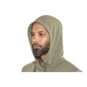 Bergans Explore Hoodie Men Seaweed Melange/Khaki Green/Solid Charcoal